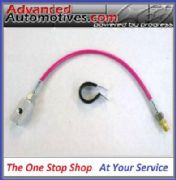 Subaru Remote Oil Pressure Switch Gauge Sensor Oil Line Kit PINK PVC Outer Cover